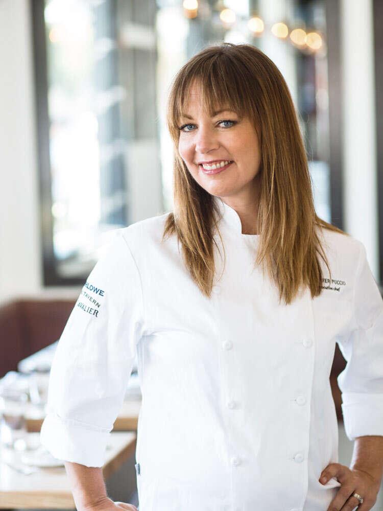 Chef Jennifer Puccio at Marlowe
