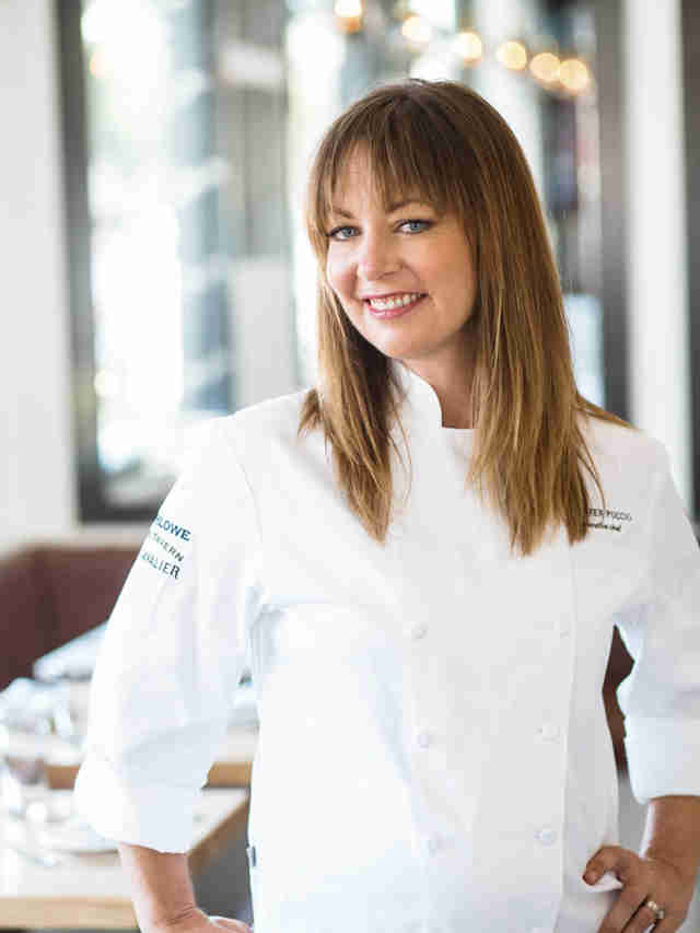 Chef Jennifer Puccio at Marlowe