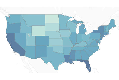 Overflow Datas Map Shows Income To Rent Ratios In The Us Thrillist - Income-map-of-us