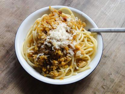 lentil and pasta