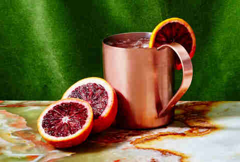 Blood Orange Mule by Evan Charest: Ray's and Stark Bar