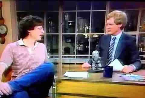 David Letterman Howard Stern