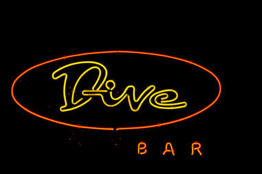 Fake dive bar