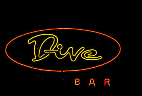 Fake dive bar