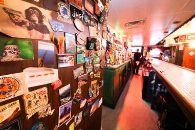 Dive bar knickknacks