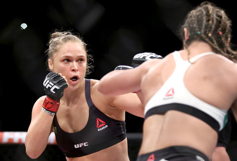 Ronda Rousey UFC fight