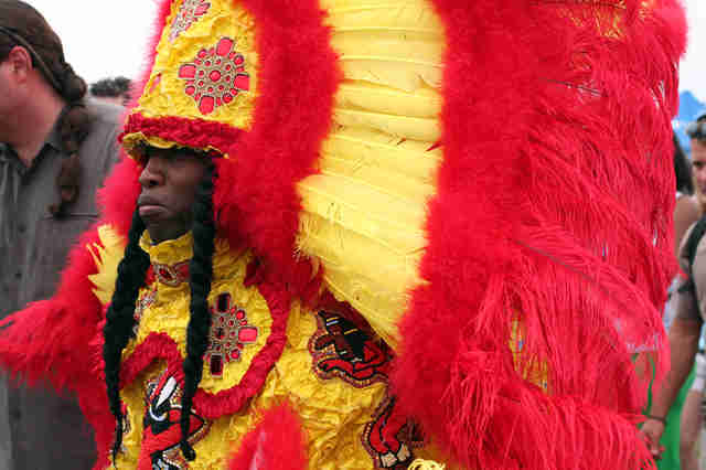 mardi gras traditional costume