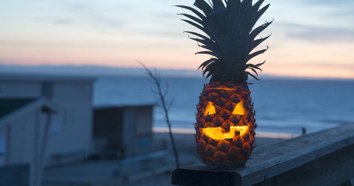 Pineapple Jack O Lanterns New Halloween Pumpkin Carving