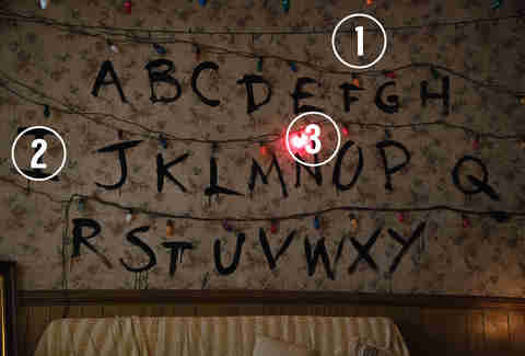 stranger things halloween costume lights