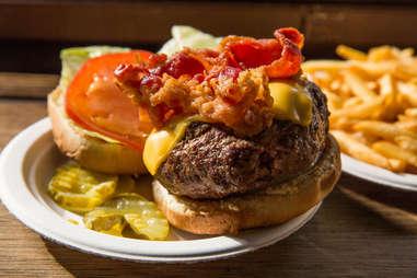 corner bistro burger