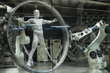 robot production line westworld