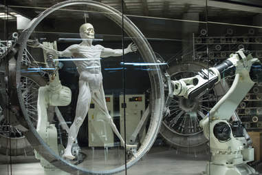robot production line westworld