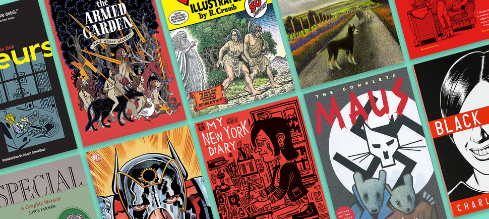 The 33 Greatest Graphic Novels of All Time
