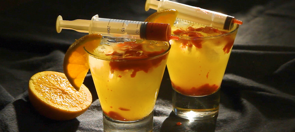 Terrifying but Tasty: Try This Bloody Orange Cocktail