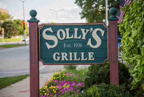 Solly's Grille Sign