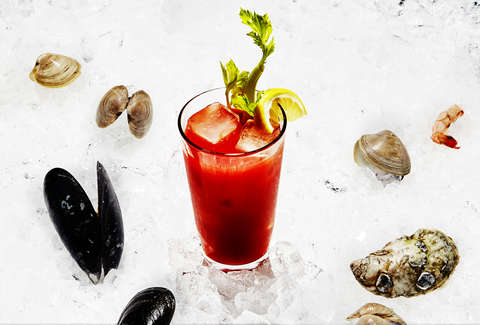 The Best Shellfish Broth For Any Bloody Caesar Recipe