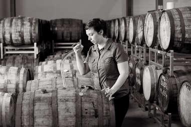 Maggie Campbell distilling