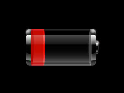 iPhone battery draining