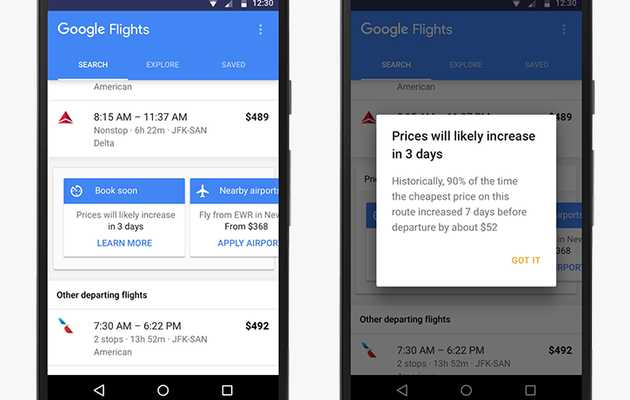 Google Flights Will Finally Tell You to the Best Time to Book Your Ticket