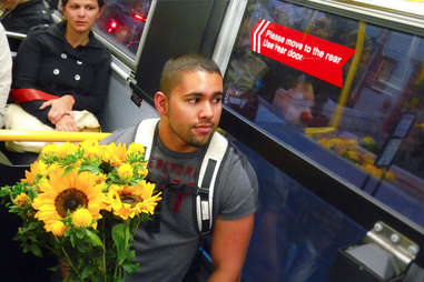 Muni Bus Flower