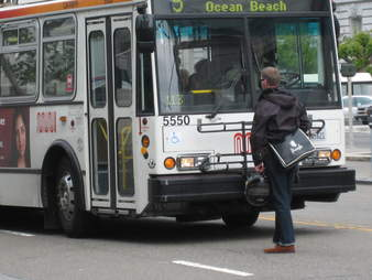 Muni Bus Man