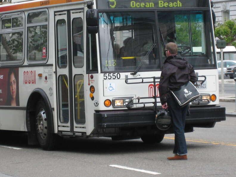 Muni Bus Man