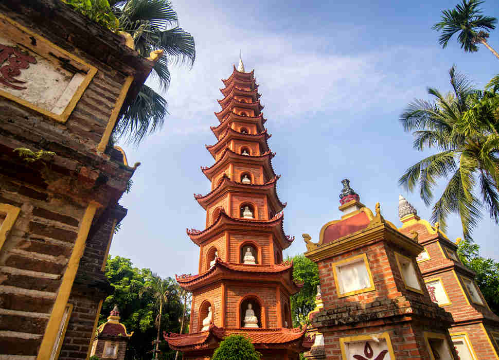 Pagoda of Tran Quoc Temple