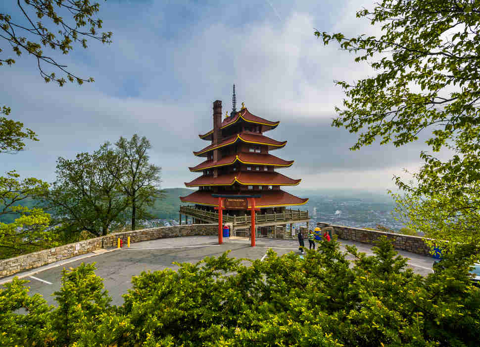 The Pagoda on Skyline Drive