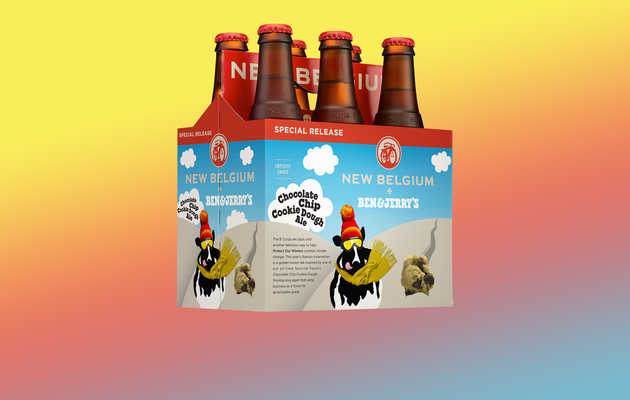 Here Comes Cookie Dough Beer From Ben & Jerry's