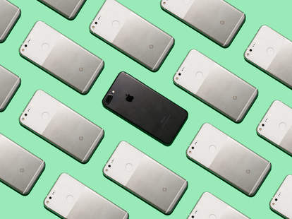 Google Pixel vs. iPhone