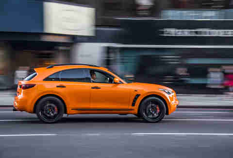 Orange cars are dicey to sell