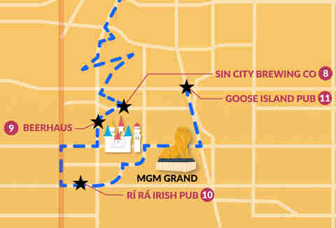 vegas bar crawl