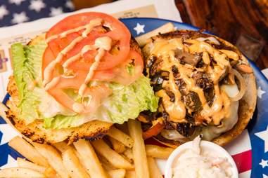 T-Rump Mexi-Can Burger
