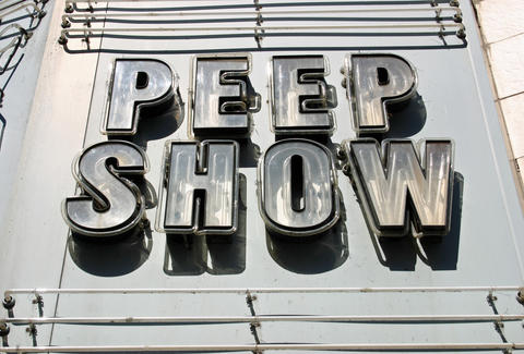 Peep show in Montreal