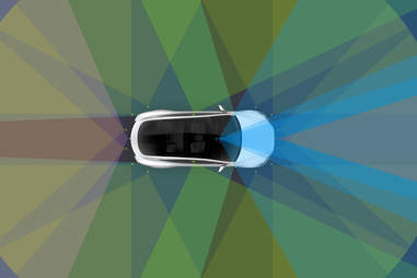 Tesla just suspended autopilot