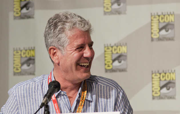 Anthony Bourdain Explains Why Chefs Drink So Damn Much
