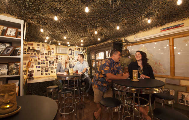 Honolulu's Coolest WWII Museum Is Also a Bar