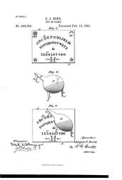 ouija board patent