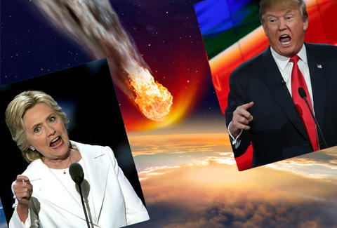 election death by meteorite