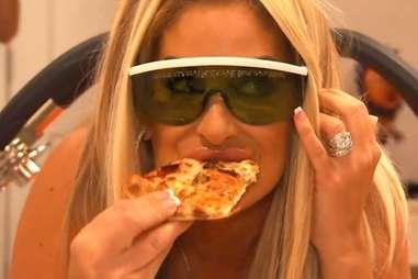 real hosuewives of atlanta pizza laser