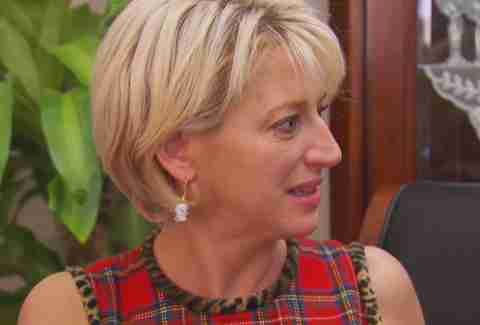 dorinda balloon real housewives of new york city