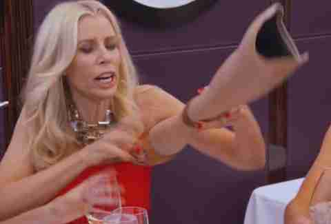 aviva drescher real housewives of new york city leg