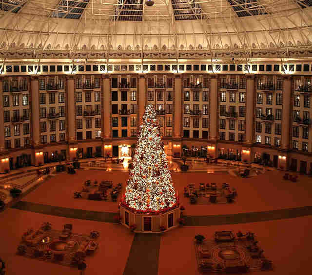 French Lick Resort atrium
