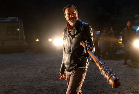 walking dead negan death premiere