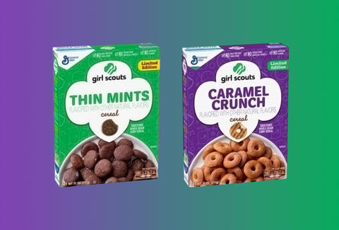 girl scout cookies cereal