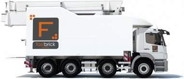 hadrian x truck by fastbrick robotics
