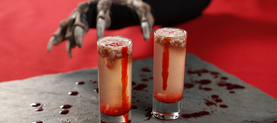 Drink Like a Zombie With These Deliciously Gross Brain Shooters
