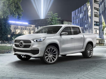Mercedes Concept Pickup