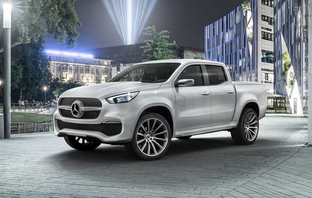 Mercedes-Freaking-Benz Is Actually Making a Pickup Truck