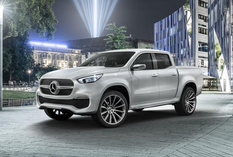 Mercedes Benz Is Actually Making A Pickup Truck